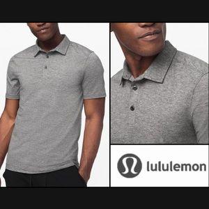 NWT Lululemon Evolution Dry Fit Polo Shirt Top 2XL